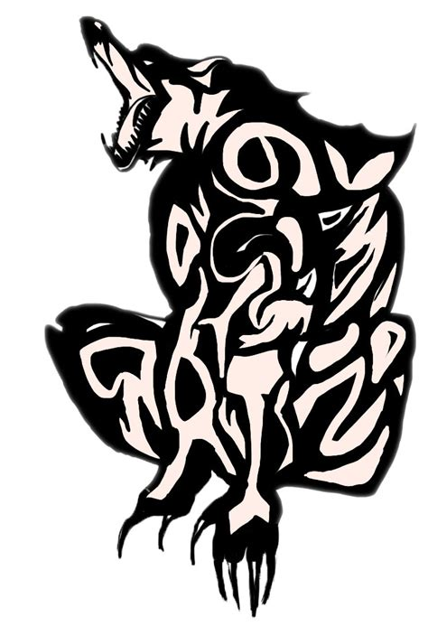 werewolf tribal tattoo tribal tattoos