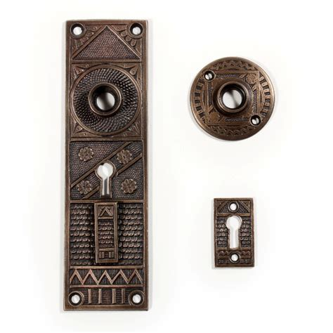Antique Exterior Door Hardware Superb Antique Exterior Door Hardware Set By F C Linde Cast Bronze Ndks153 For Sale