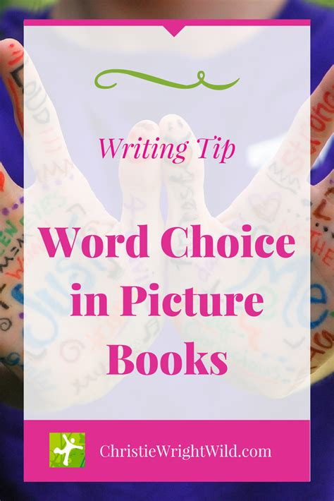 the wright choice books write word choice in picture books part 1