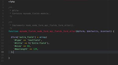drupal theme node edit form node form api fields drupal org