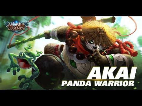 Akai Panda Warrior mobile legends panda warrior akai remake