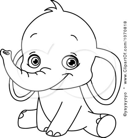 baby elephant coloring pages gt gt disney coloring pages