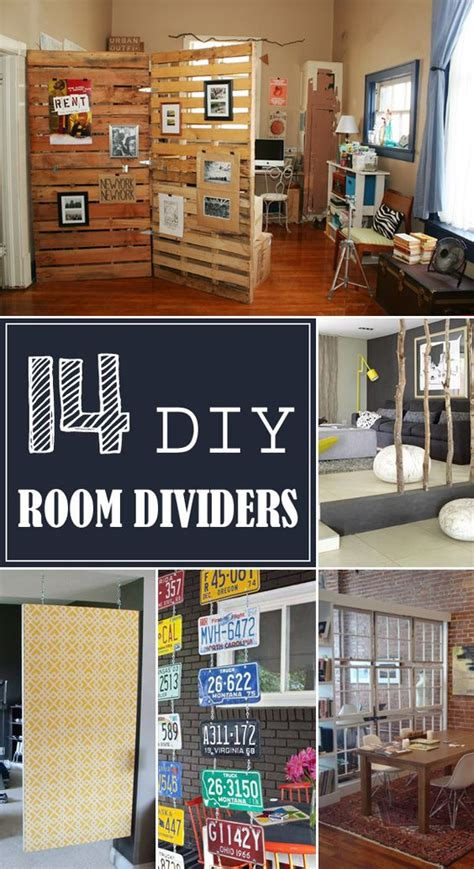 14 diy creative room divider ideas home decor and more