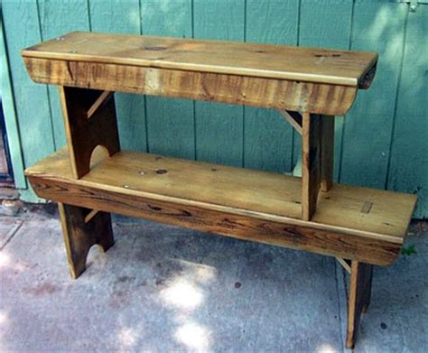Dining Room Hutches by 44 Quot Rustic Bench Trailer Park