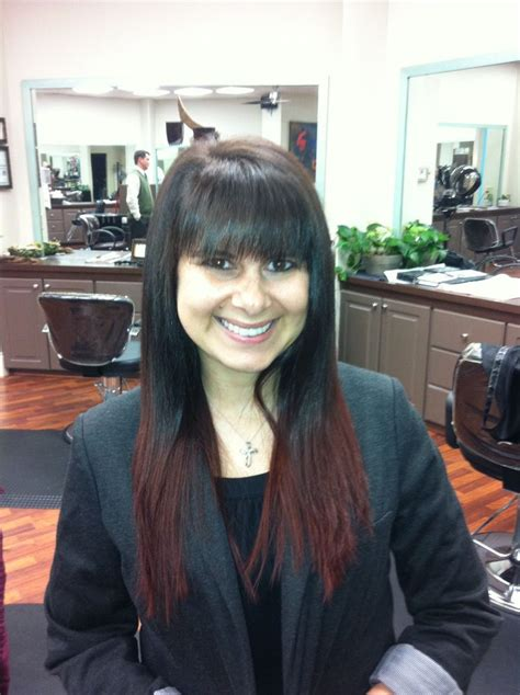 black hair stylists in nashville brown ombre melt hairstylegalleries com