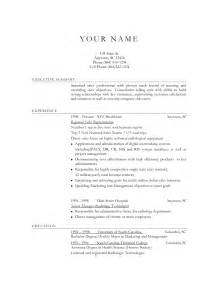 Resume Objective Exles For Sales Resume Objective Sles For