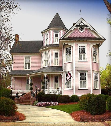 best 25 pink houses ideas on pastel house