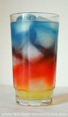Experiments Using Kitchen Ingredients Layered Drinks On Drinks Non Alcoholic And