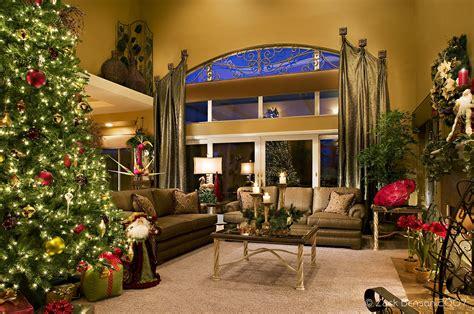 open floor christmas living room decor  latest