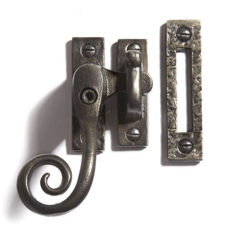 awning window latch signature hardware cast iron curly casement window latch