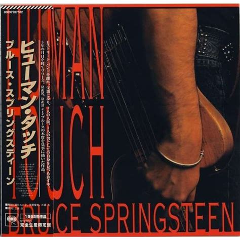 Kaset Bruce Springsteen Human Touch human touch mini lp papersleeve by bruce springsteen