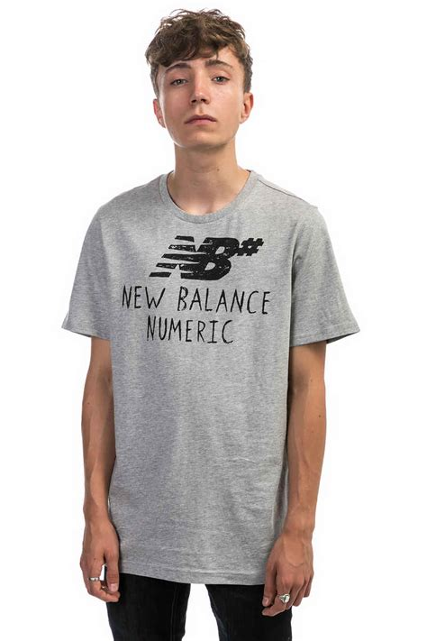T Shirt New Balance Numeric new balance numeric t shirt athletic grey