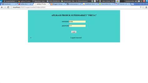 membuat web service sederhana dengan java the end is never what you expect membuat aplikasi java