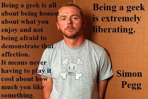 simon pegg memes simon pegg on being a geek nerdalicious