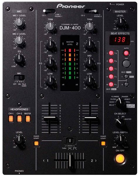 Mixer Audio Target Audio Professional 4 Ch6 user reviews pioneer djm 400 audiofanzine