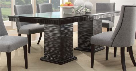 homelegance chicago dining set espresso d2588 92