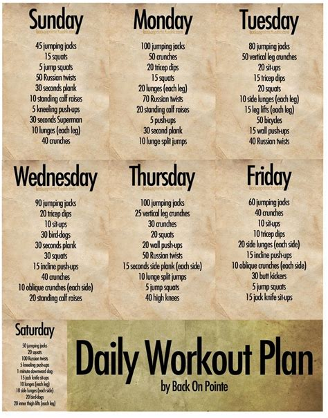 workout routines search health and fitness