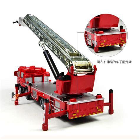 Diecast Alat Berat Construction Metal Power kdw 1 50 scale diecast ladder truck construction