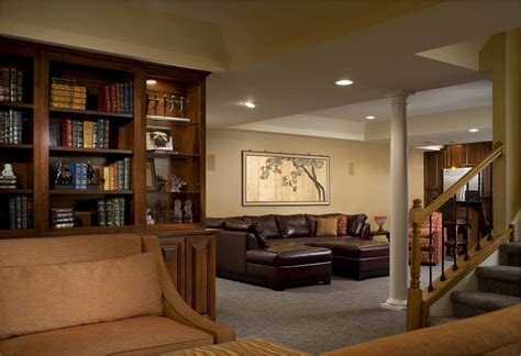 elegant renovated basement ideas