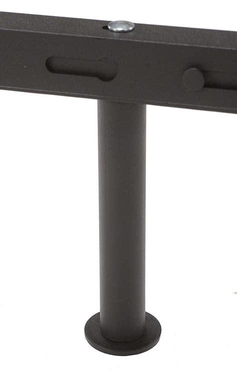 king s brand 7 leg heavy duty adjustable metal bed frame