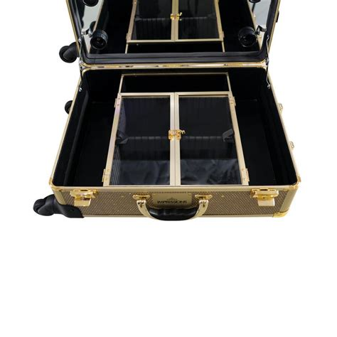 travel vanity case with lights impressions vanity slaycase xl vanity travel train case