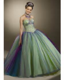 green ball gown strapless and sweetheart bandage floor