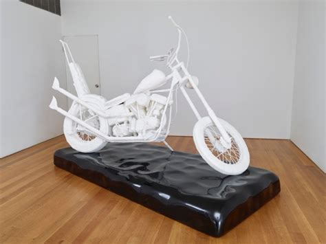 easy rider will ryman on the motorcycle sculpture he made
