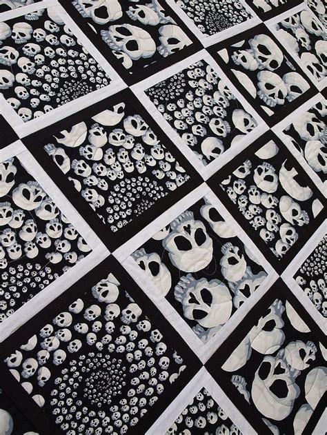 1000 images about quilt skulls on quilt