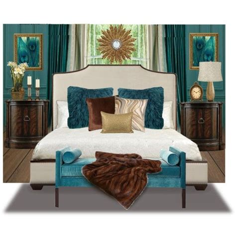 17 best ideas about teal brown bedrooms on