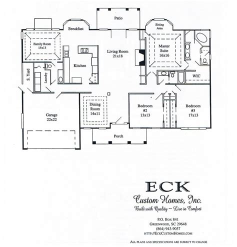 bathroom floor plans with walk in closets eck custom homes inc greenwood s c