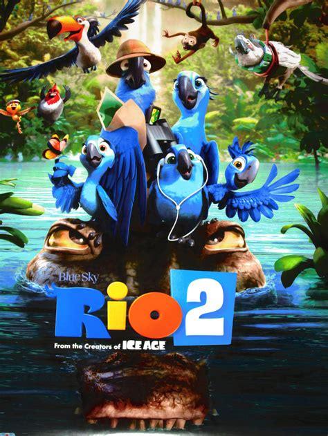 film streaming rio 2 my new rio 2 poster by homeofbluandshadows on deviantart
