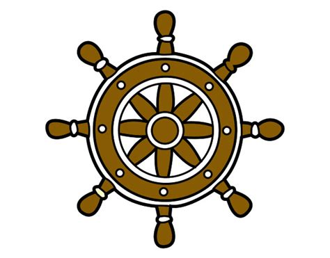 timones de barcos para colorear dibujos de tim 243 n pirata imagui