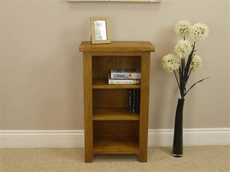 tucan rustic oak small bookcase bookshelf shelving