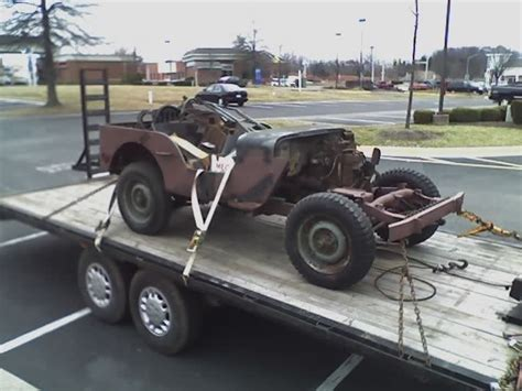 1942 Willys Jeep For Sale Willys Mb Jeep 1942 Basket Project For Sale Photos