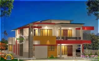 modern 4 bhk house plan in 2800 sq kerala home