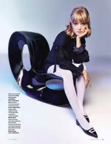 Vanity Fair 60 S Pop Lottie Moss Lou Schoof Channel Swinging 60 S Style In