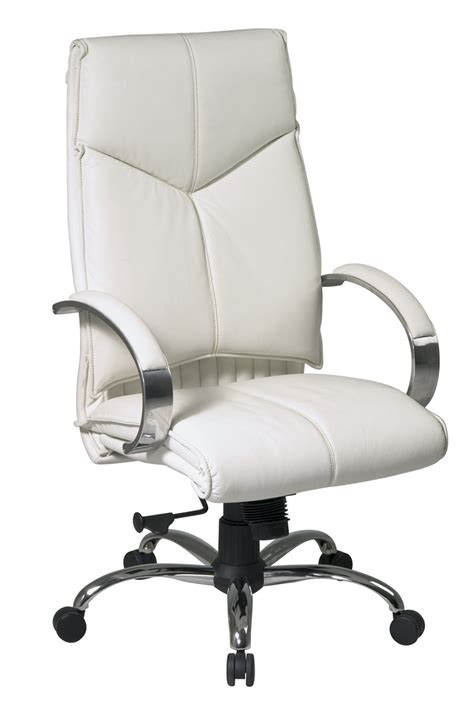 Office Leather Chairs by 7270 Office Deluxe High Back Executive White