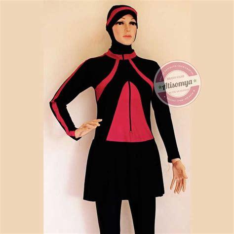 Satu Set Pangsi Betawi Warna Hitam 7 best baju renang muslimah atisomya images on spandex 50th and pops