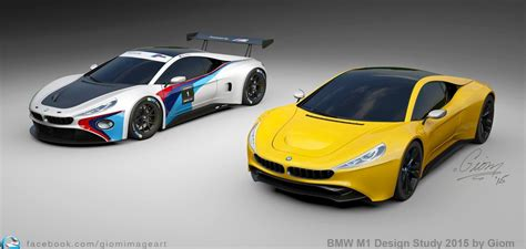 bmw supercar concept bmw m1 design study supercar