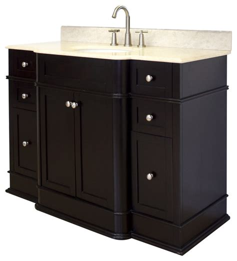 Birch Bathroom Vanity Cabinets by Birch Wood Veneer Vanity Set In Mahogany 50 Quot X22