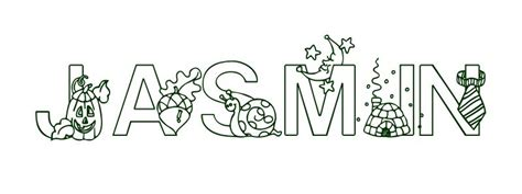 coloring pages of the name jasmine coloring page first name jasmin