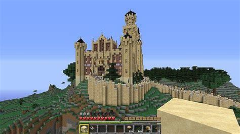Chateau Home Plans Neuschwanstein Castle Minecraft Project