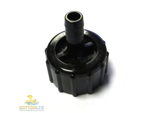 yamaha outboard water flushing pipe connector joint    ff parts bottom