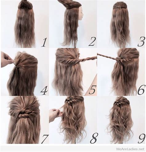 hairstyles tutorial photos wonderful half up hairstyle tutorial