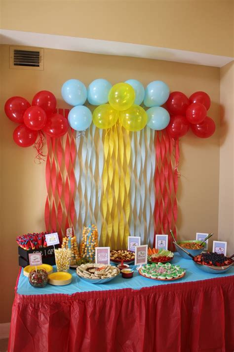 simple birthday decorations at home creatives ideas to create birthday table decorations also