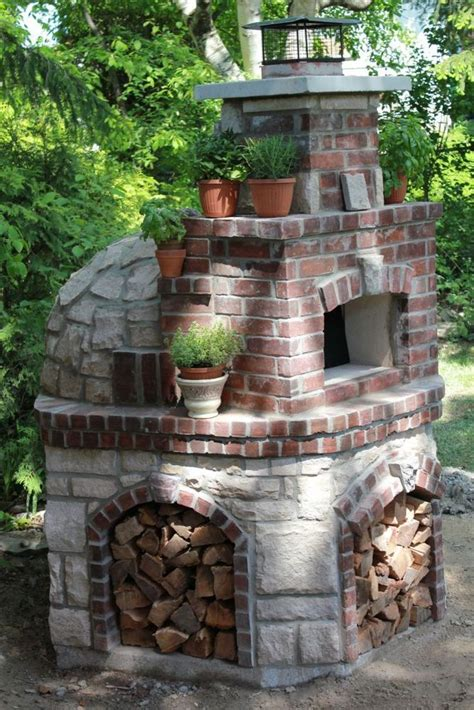 pizza oven for backyard pizza oven kit 47 quot wood fired indoor outdoor volta