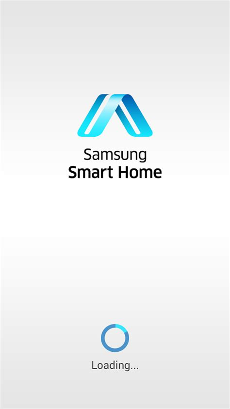 samsung smart home screenshot