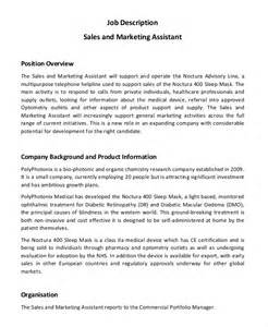 sales assistant description template doc 12401754 sales assistant description resume