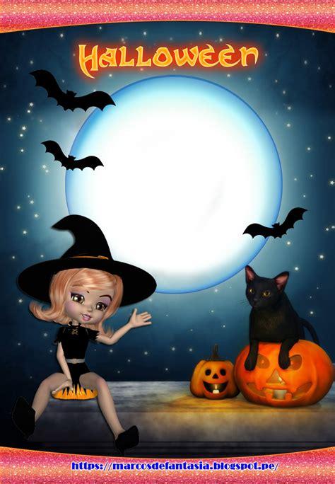 imagenes bellas de halloween marcos para fotos halloween noches de brujas y fantasmas