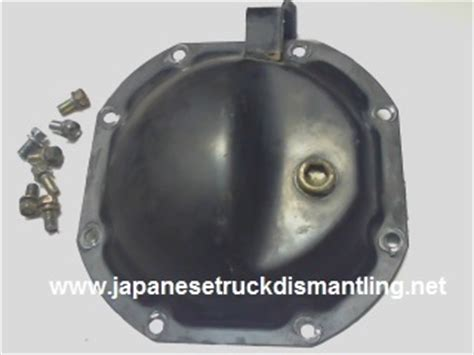 nissan frontier rear axle 2005 2006 2007 nissan frontier rear axle cover differential